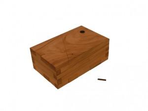 Hidden Compartment Wooden Puzzle Box