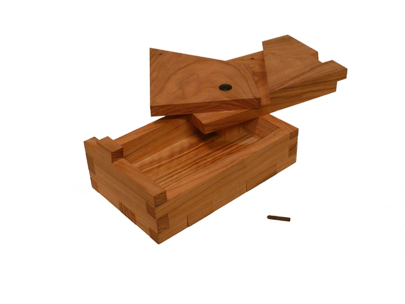 UnaBox Wooden Puzzle Box