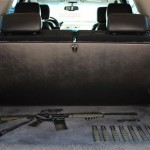 Concealed Gun Compartment in SUV