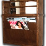 Hidden Compartment Magazine Rack