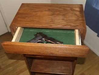 Secret Drawer Compartment Bookcase