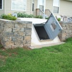 Secure Storm Shelter Door