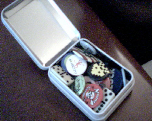 Personal Treasure Chest Tin Stash Box