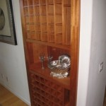Secret Door Made from Wine Rack