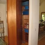 Secret Bookcase / Wine Rack Pivots to Reveal Closet