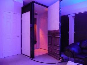 Powered Hidden Door