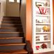 Closet with Hidden Bookshelf Door