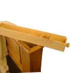Hidden Stash Box in Bedpost