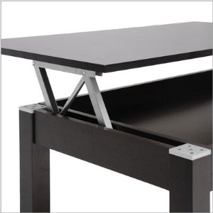 Lift-Top Secret Compartment Table