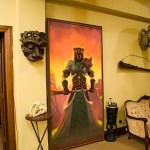 Painting Conceals Hidden Entrance