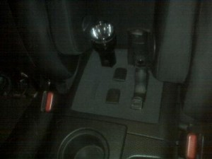Hidden Gun Compartment in Car