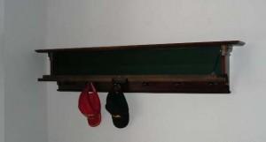 Hidden Stash Spot in Wall Shelf