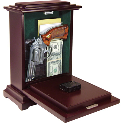 Secret Compartment Mantel Clock