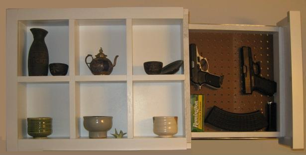 Shadow Box with Secret Compartment