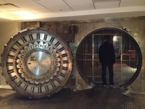 Vault and Vault Door
