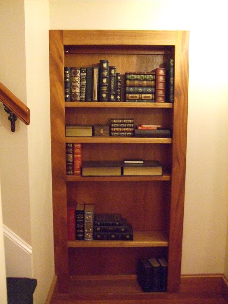 Hidden Bookshelf Door To Library