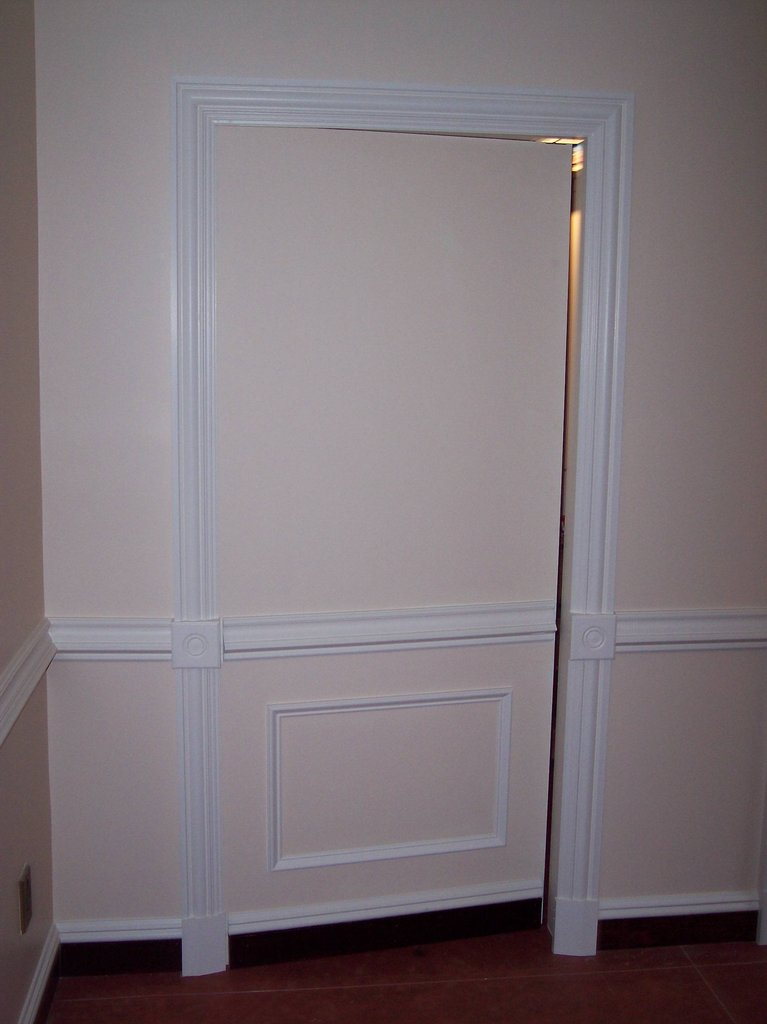 Secret hidden panel door stashvault for 12 panel door