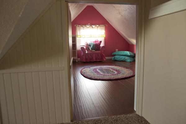 Entrance to Hidden Attic Play Room & Secret Room in Attic | StashVault