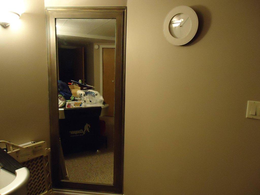 Amazing Secret Room Behind Concealed Mirror Door