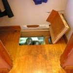 Hidden Trap Door to Basement Play Room