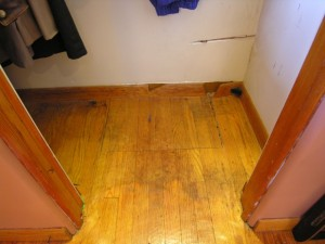 Hidden Trap Door in Floor