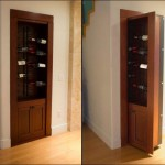 Hidden Room Entrance Behind Wine Rack