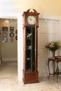 Secret Gun Storage in Grandfather Clock