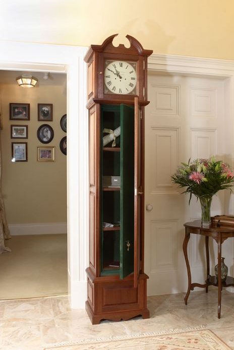 Etonnant Secret Gun Storage In Grandfather Clock