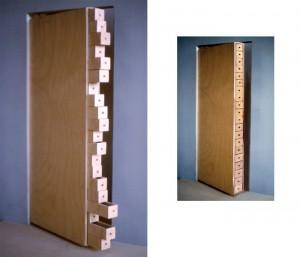 Door with Drawers