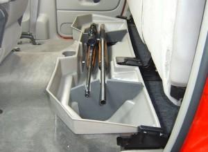 Secret Under Seat Storage Compartment
