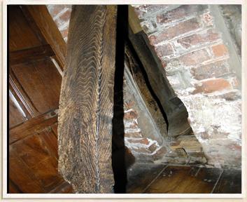 Secret Room Behind Pivoting Timber/Beam