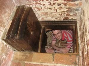 Trap Door in Floor to Priest Hole