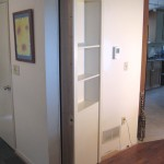 Custom Bookcase Closet Door