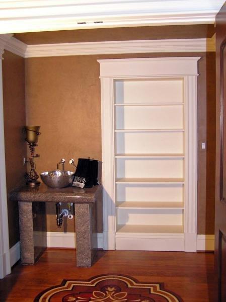 Bookshelf Door In Closed Position Stashvault