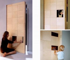 Puzzle Panel Door