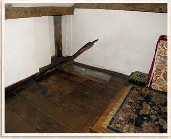 Floorboards Lift Up to Reveal Hidden Compartment
