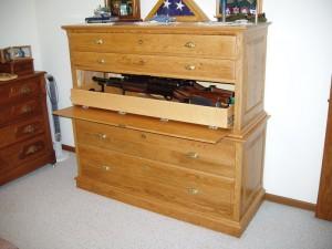 Secret Compartment Gun Cabinet Furniture