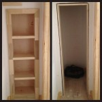 Hidden Bookcase Door Conceals Gun Closet