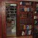 Hidden Bookcase Door Conceals Secret Room