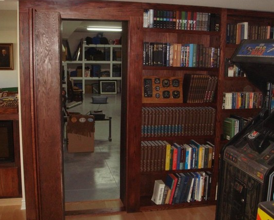 Production Bookshelf Door Conceals Secret Room
