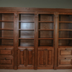 Secret Double Bookcase Doors