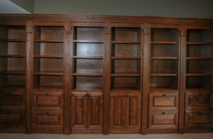Secret Double Bookcase Doors