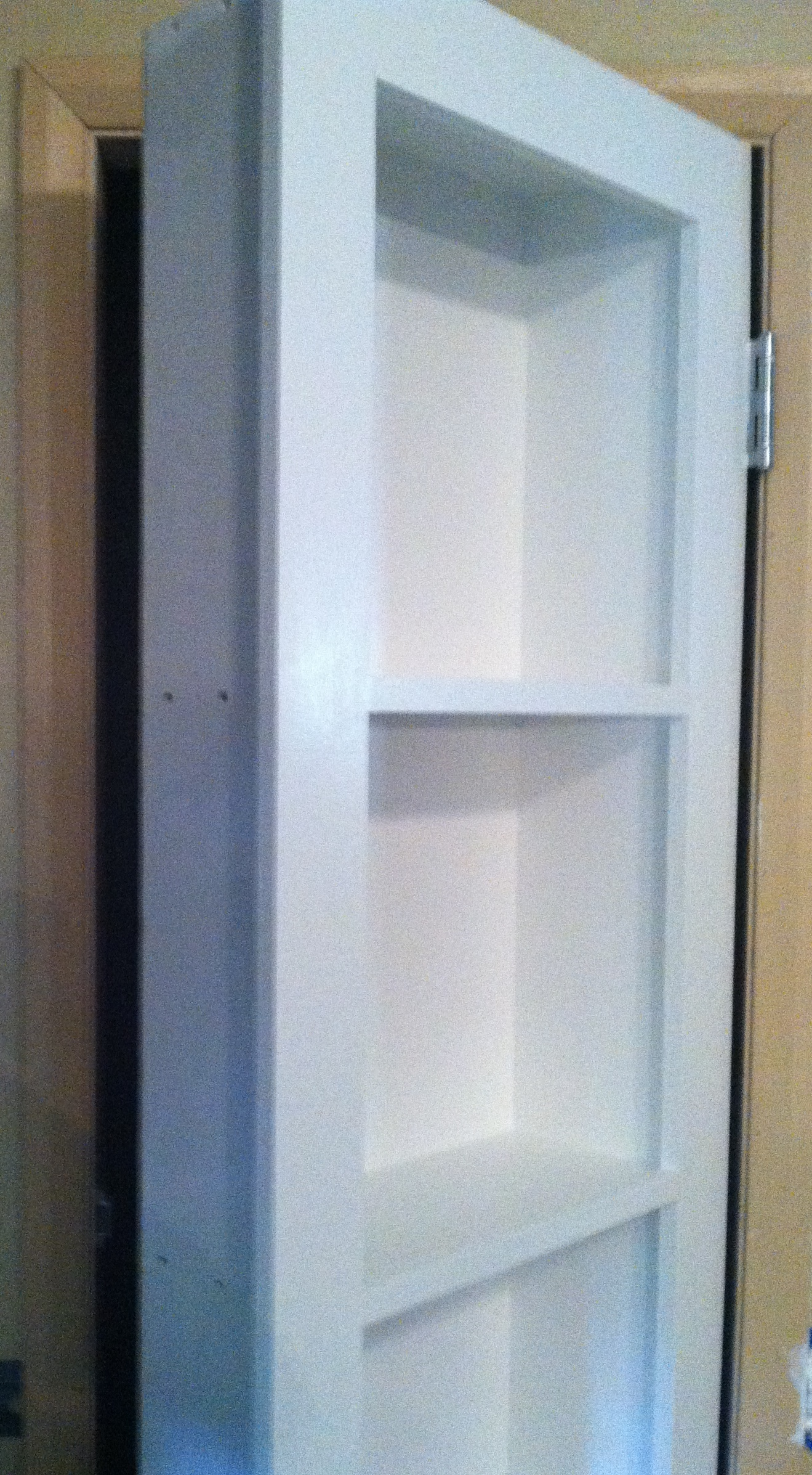 Swing-Out Bookcase Door to Secret Attic Room