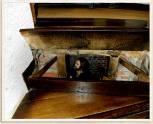 Secret Priest Hole Under Stairs