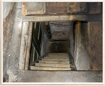 Trap Door Reveal Underground Priest Hole