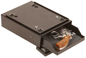 Under Desk Lockable Handgun Safe
