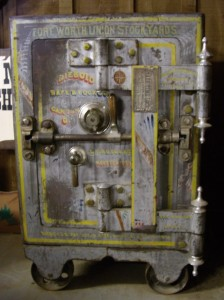 Vintage Steel Security Safe