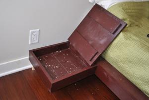 DIY Nightstands with Hidden Compartments
