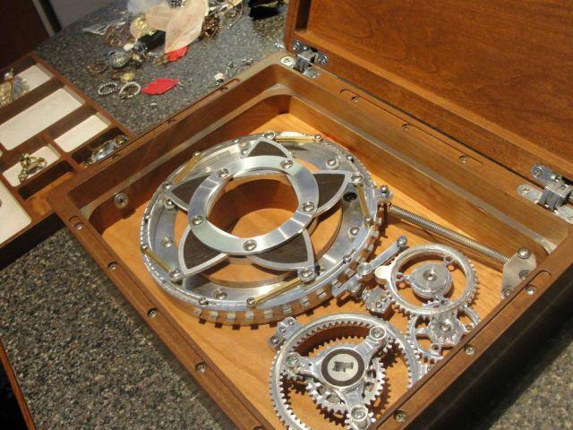 Mechanical Jewelry Box