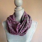Infinity Scarf with Hidden Zippered Pocket